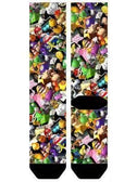MARIO KART SUBLIMATED SOCKS