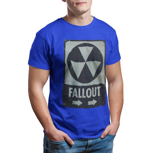 OFFICIAL FALLOUT T-SHIRT (ROYAL BLUE)