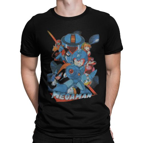 OFFICIAL MEGA MAN T-SHIRT