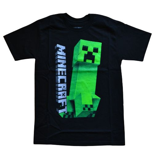 OFFICIAL MINECRAFT DARK CREEPER T-SHIRT