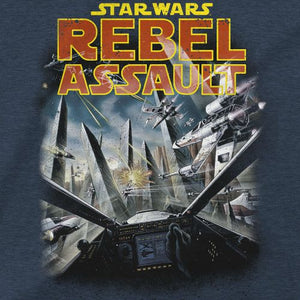 OFFICIAL REBEL ASSAULT STAR WARS T-SHIRT