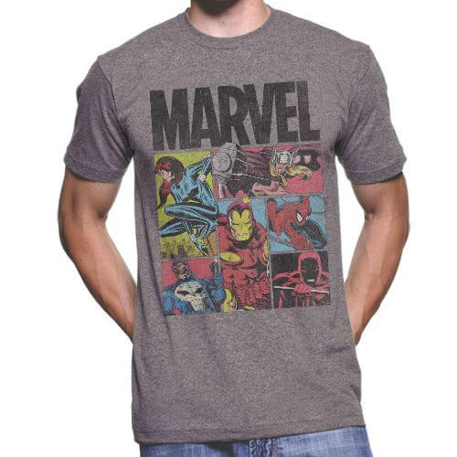 Official Marvel Heroes T-shirt