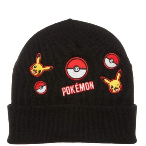 PIKACHU AND POKEBALL BEANIE