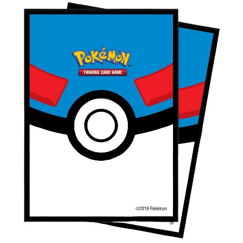 POKEBALL ULTRA-PRO POKÉMON DECK PROTECTOR SLEEVES (65)
