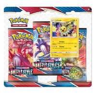 POKEMON - BATTLE STYLES - 3 PACK BLISTER - JOLTEON (PRE-ORDER MARCH 19TH, 2021)