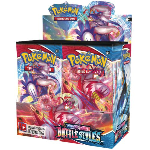 POKEMON - BATTLE STYLES - BOOSTER BOX