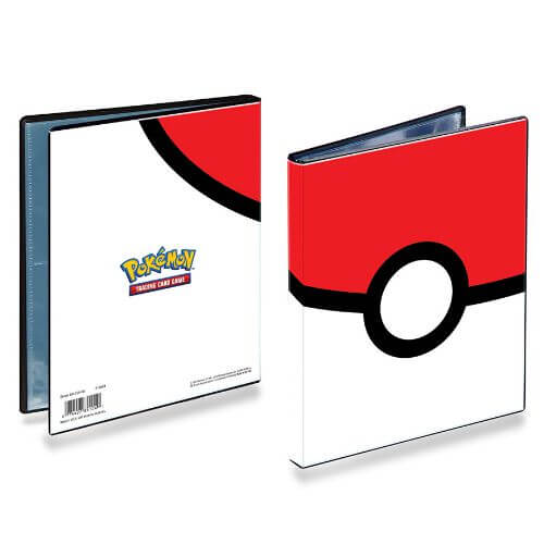 POKEMON 4 POCKET POKEBALL PORTFOLIO