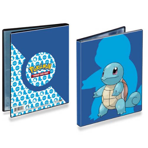 POKEMON 4 POCKET SQUIRTLE PORTFOLIO