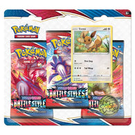 POKEMON BATTLE STYLES 3 PACK BLISTER - EEVEE (PRE-ORDER MARCH 19TH, 2021)