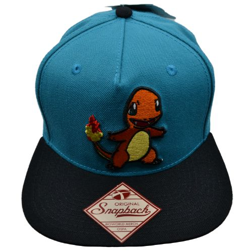 POKEMON CHARMANDER SNAPBACK HAT