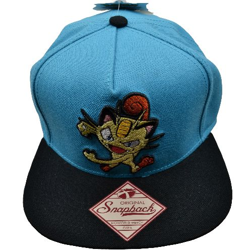 POKEMON MEOWTH SNAPBACK HAT