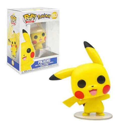 POKEMON PIKACHU FUNKO POP 553