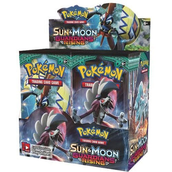 POKEMON SUN AND MOON GUARDIANS RISING BOOSTER BOX