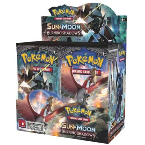 POKEMON SUN AND MOON BURNING SHADOWS BOOSTER BOX