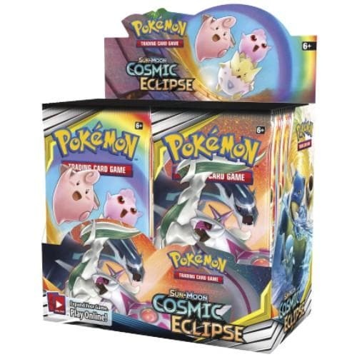 POKEMON SUN AND MOON COSMIC ECLIPSE BOOSTER BOX - Pokemon Cards
