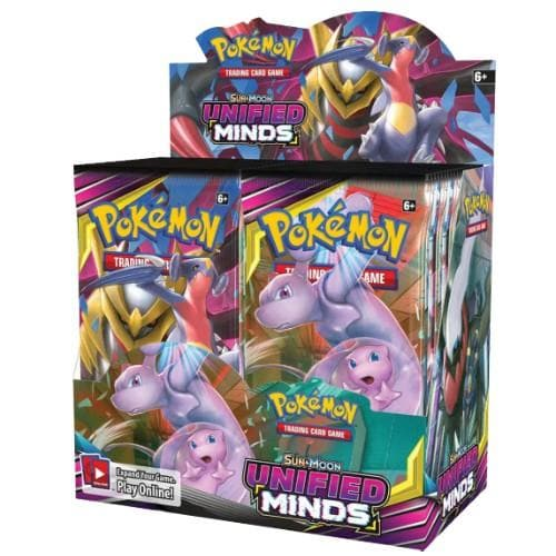 POKEMON SUN AND MOON UNIFIED MINDS BOOSTER BOX - Pokemon Cards