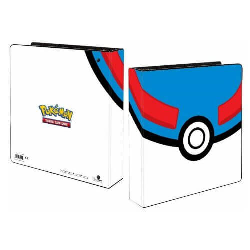 POKEMON GREAT BALL BINDER 2'' + 5 Free Platinum Pages