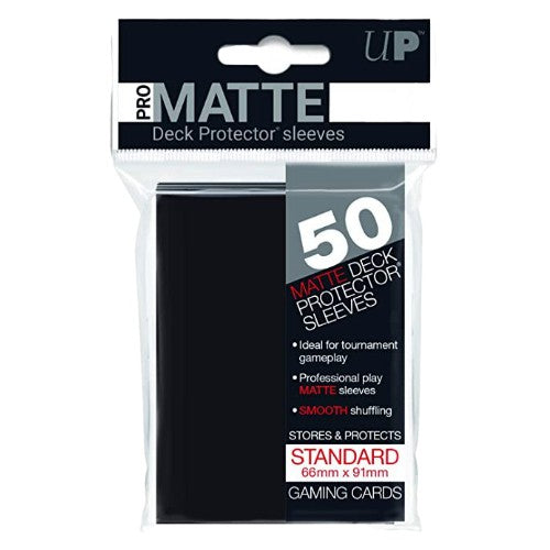 PRO MATTE DECK PROTECTOR SLEEVES (50)
