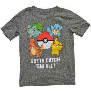OFFICIAL PIKACHU T-SHIRT (BOYS 4-12)