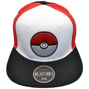 POKEMON POKEBALL YOUTH SNAPBACK HAT