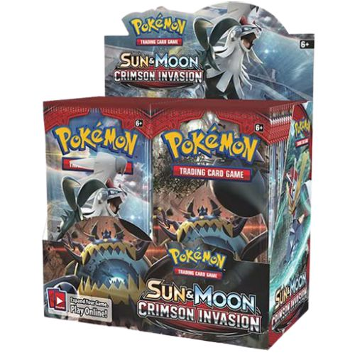 POKEMON TCG SUN AND MOON CRIMSON INVASION