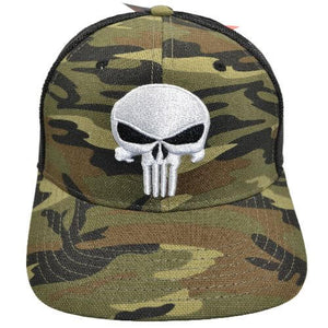PUNISHER CAMO SNAPBACK HAT