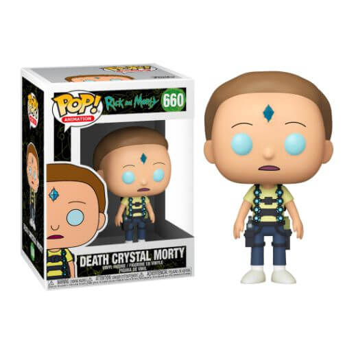 RICK & MORTY MORTY FUNKO POP 660