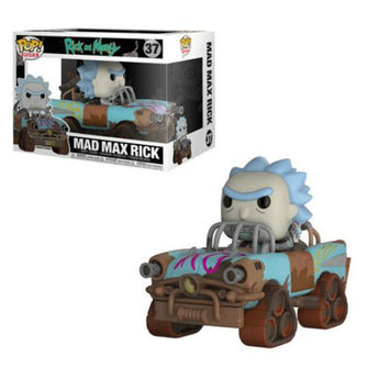 Mad Max Rick is now featured as a Pop! ride.  Add Rick to your collection as he outruns the Death-Stalkers in the wastelands of a post-apocalyptic earth!  UPC: 889698284561