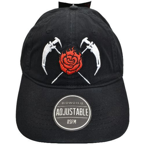 RWBY FLOWERS SNAP BACK HAT