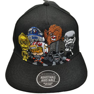 STAR WARS CHARACTERS SNAPBACK HAT