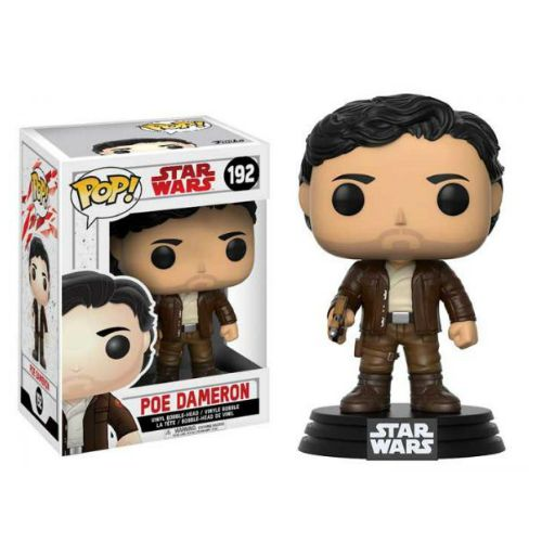 STAR WARS EP8 POE DAMERON FUNKO POP 192