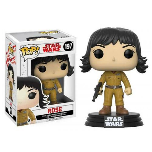 STAR WARS EP8 ROSE FUNKO POP