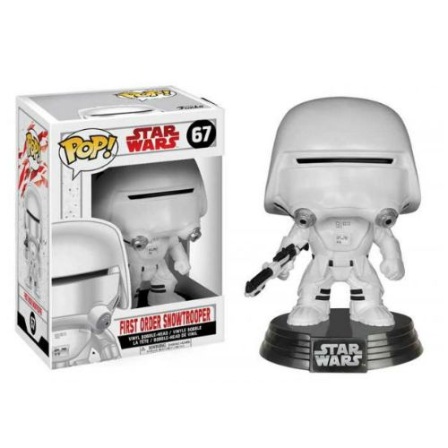 STAR WARS EP8 SNOWTROOPER FUNKO POP 67