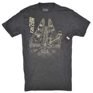 OFFICIAL STAR WARS T-SHIRT - FALCON