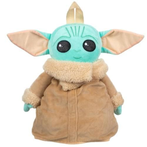 STAR WARS BABY YODA PLUSH KIDS BACKPACK