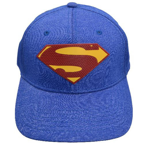 SUPERMAN RUBBER WELD BASEBALL CAP
