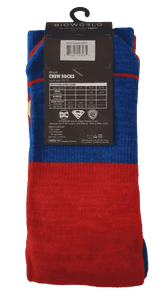 SUPERMAN FLIPPED PATTERN MENS SOCKS