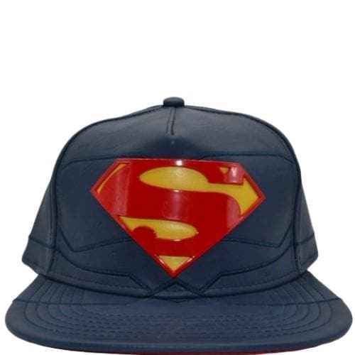 SUPERMAN REBIRTH SUIT UP PU SNAPBACK - DC Comics Apparel