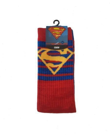 SUPERMAN Flipped Pattern Mens Socks GEEKFASHION.CA