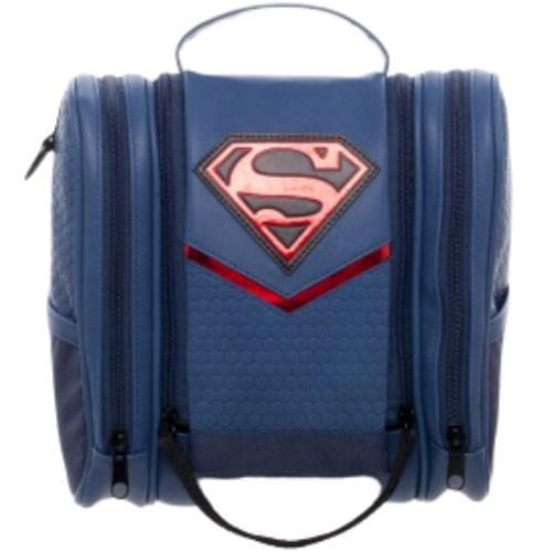 SUPERMAN TRAVELLING AND COSMETIC BAG