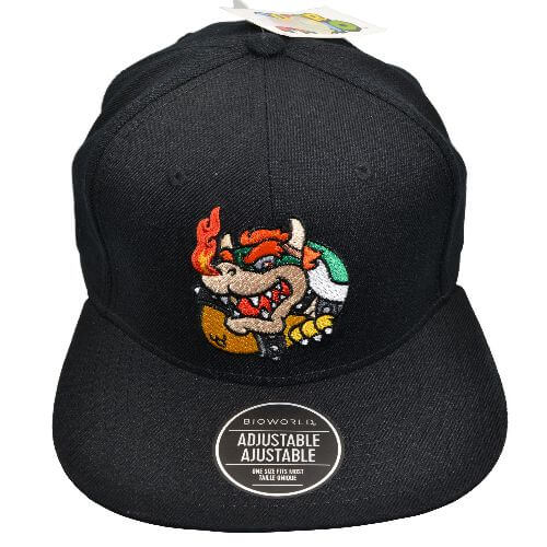 SUPER MARIO BOWSER SNAPBACK HAT