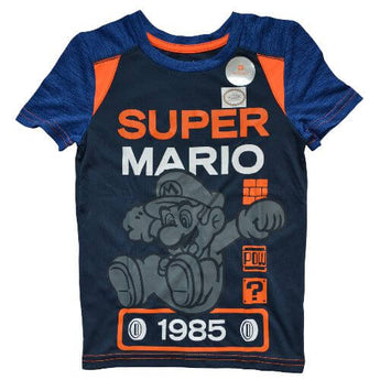 OFFICIAL SUPER MARIO T-SHIRT (BOYS 4-12)