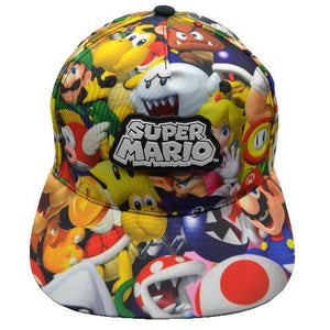 SUPER MARIO YOUTH SNAPBACK HAT