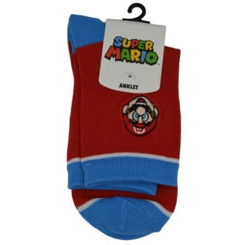 SUPER MARIO BROS ANKLET SOCKS