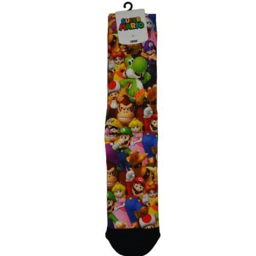 SUPER MARIO BROS SUBLIMATED SOCKS