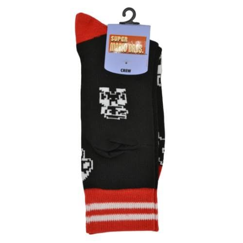 Super Mario Bros Socks - Nintento Apparel - Geek Apparel