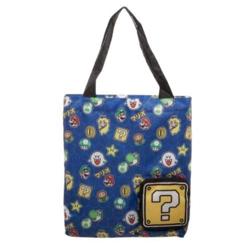 SUPER MARIO PACKABLE TOTE BAG