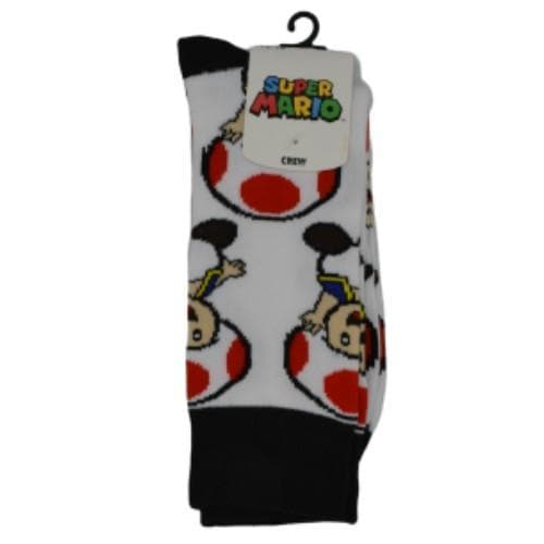 SUPER MARIO TOAD CREW SOCKS