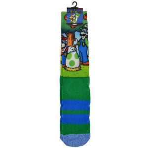 SUPER MARIO WORLD SUBLIMATED SOCKS