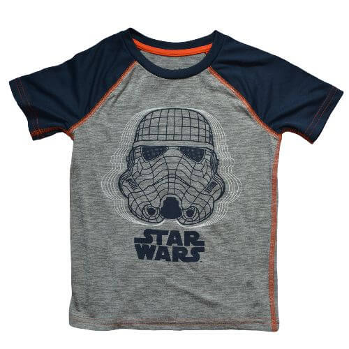 OFFICIAL STAR WARS T-SHIRT (BOYS 4-12)